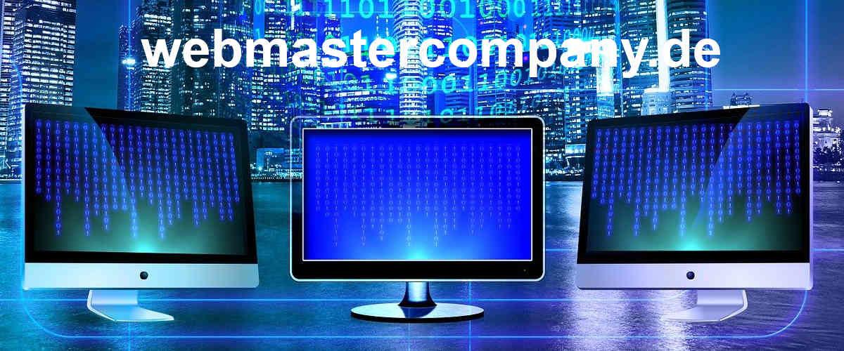 webmastercompany.de - Hosting • Domains • Software